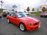 2012 Race Red Ford Mustang V6 Premium Convertible #87224946