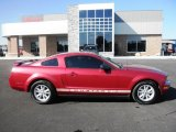 2005 Redfire Metallic Ford Mustang V6 Deluxe Coupe #87225318