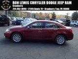 2014 Deep Cherry Red Crystal Pearl Chrysler 200 Limited Sedan #87224922