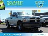 2010 Bright Silver Metallic Dodge Ram 1500 ST Regular Cab #87225308