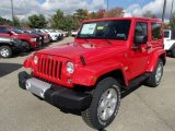 2014 Jeep Wrangler Flame Red