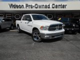 2011 Bright White Dodge Ram 1500 Big Horn Crew Cab 4x4 #87225387