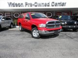 2005 Flame Red Dodge Ram 1500 SLT Regular Cab 4x4 #87225382