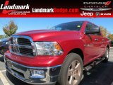 2012 Deep Cherry Red Crystal Pearl Dodge Ram 1500 Big Horn Crew Cab #87224994