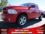 2014 Flame Red Ram 1500 Express Quad Cab #87224985