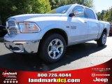 2014 Bright White Ram 1500 Laramie Crew Cab 4x4 #87224983