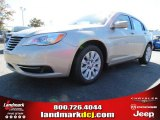 2014 Cashmere Pearl Chrysler 200 LX Sedan #87224970