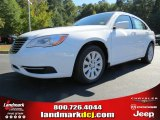 2014 Bright White Chrysler 200 LX Sedan #87224969