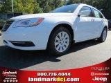 2014 Bright White Chrysler 200 LX Sedan #87224967