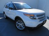 2014 White Platinum Ford Explorer XLT #87225076