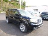 2014 Crystal Black Pearl Honda Pilot EX-L 4WD #87225267