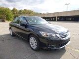 2014 Crystal Black Pearl Honda Accord EX Sedan #87225264