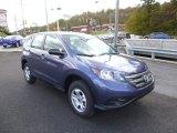 2014 Twilight Blue Metallic Honda CR-V LX AWD #87225254
