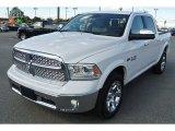 2014 Bright White Ram 1500 Laramie Crew Cab 4x4 #87225242