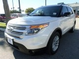 2014 White Platinum Ford Explorer XLT #87274350