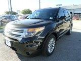 2014 Tuxedo Black Ford Explorer XLT #87274346