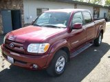 2005 Salsa Red Pearl Toyota Tundra Limited Double Cab #8722827