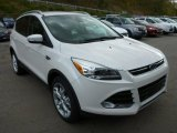 2014 White Platinum Ford Escape Titanium 2.0L EcoBoost 4WD #87274532