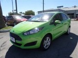 2014 Green Envy Ford Fiesta SE Sedan #87274338