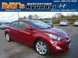 2013 Red Hyundai Elantra Limited #87274733