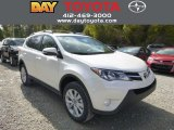 2013 Blizzard White Pearl Toyota RAV4 Limited AWD #87274331
