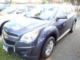 2014 Atlantis Blue Metallic Chevrolet Equinox LT #87274264
