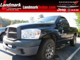 2008 Mineral Gray Metallic Dodge Ram 1500 ST Regular Cab #87274592