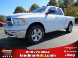 2014 Bright White Ram 1500 SLT Quad Cab #87274586