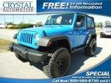 2012 Cosmos Blue Jeep Wrangler Sport 4x4 #87274718