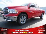 2014 Flame Red Ram 1500 Big Horn Crew Cab #87274575