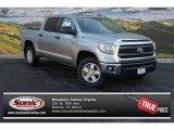 2014 Silver Sky Metallic Toyota Tundra SR5 Crewmax 4x4 #87274237