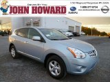 2013 Frosted Steel Nissan Rogue S AWD #87274700