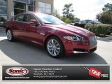 2013 Carnelian Red Metallic Jaguar XF 3.0 #87301758