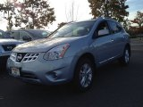 2013 Frosted Steel Nissan Rogue SV AWD #87307958