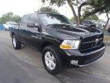 2012 Black Dodge Ram 1500 ST Quad Cab 4x4 #87308070