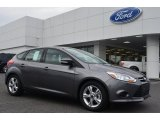 2014 Sterling Gray Ford Focus SE Hatchback #87307718