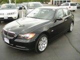 2008 Jet Black BMW 3 Series 335xi Sedan #8718882