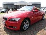 2008 Crimson Red BMW 3 Series 328i Convertible #8722397