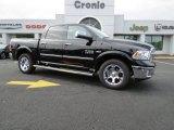 2014 Black Ram 1500 Laramie Crew Cab 4x4 #87307769