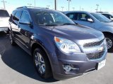 2014 Atlantis Blue Metallic Chevrolet Equinox LTZ AWD #87307878