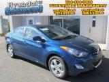 2013 Windy Sea Blue Hyundai Elantra GLS #87307641