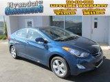 2013 Windy Sea Blue Hyundai Elantra GLS #87307640
