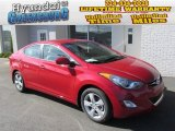 2013 Red Hyundai Elantra GLS #87307639