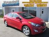 2013 Red Hyundai Elantra GLS #87307638