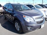 2014 Atlantis Blue Metallic Chevrolet Equinox LTZ AWD #87307854