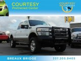 2012 Oxford White Ford F250 Super Duty King Ranch Crew Cab 4x4 #87307970