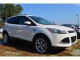 2014 White Platinum Ford Escape Titanium 2.0L EcoBoost #87341950