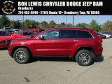 2014 Deep Cherry Red Crystal Pearl Jeep Grand Cherokee Limited 4x4 #87341872