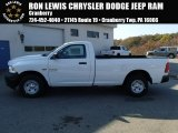 2014 Bright White Ram 1500 Tradesman Regular Cab 4x4 #87341867