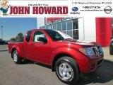 2013 Lava Red Nissan Frontier SV V6 King Cab 4x4 #87342172